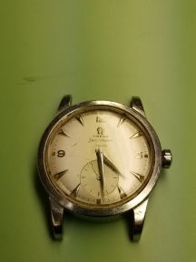 Omega Seamaster before cleaning